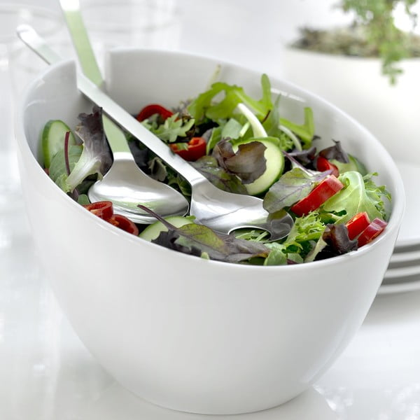 Salátová miska Steel Function Parma s příborem