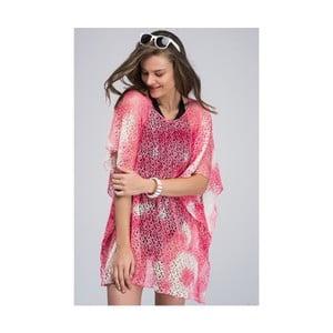 Růžová dámská letní tunika z čisté bavlny NW Elisia
