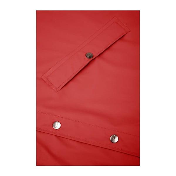 Jachetă unisex impermeabilă Rains Long Jacket, mărime S/M, roșu închis