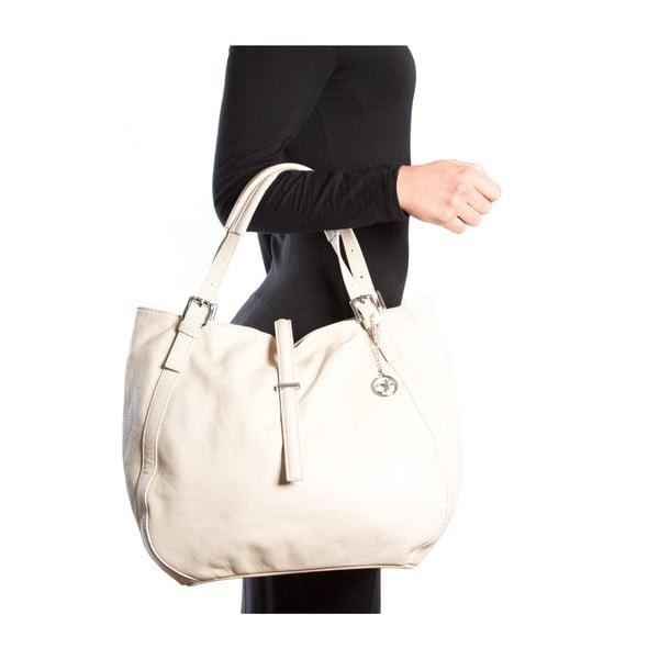 Kožená kabelka Theresa, béžová