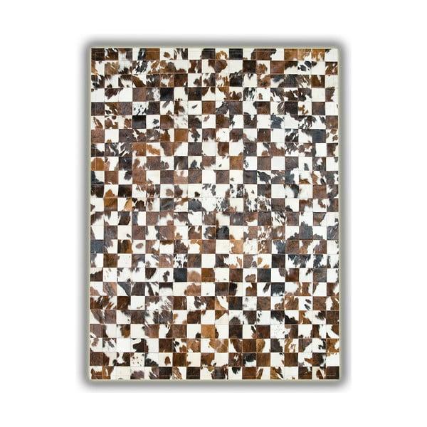 Koberec z pravé kůže Alfombra, 150x210 cm