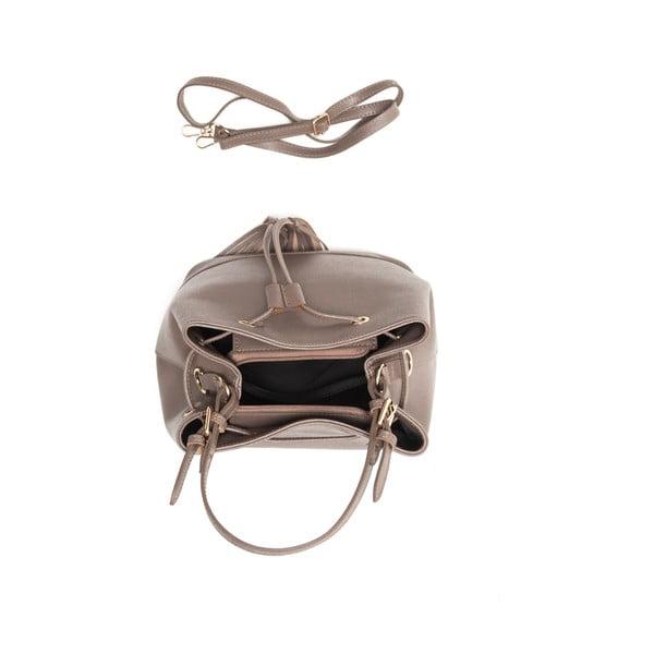 Kožená kabelka Renata Corsi 430 Fango