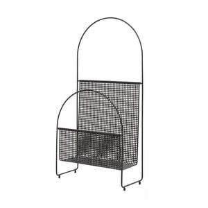 Černý stojan na noviny OK Design Nouvelle