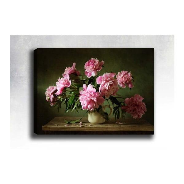 Obraz na płótnie Tablo Center Pink Roses, 40x60 cm