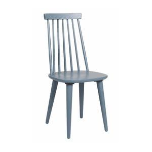 Modrá dubová židle Folke Nymph