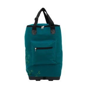 Modrozelená nákupní taška na kolečkách Friedrich Ledenwaren Trolley
