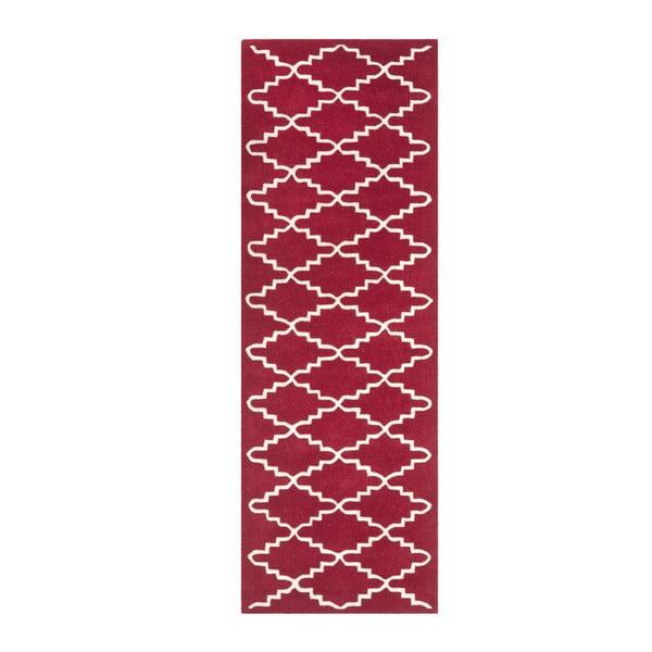 Ručně vyšívaný koberec Audrey, 68x213 cm