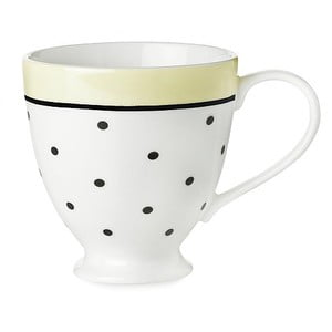 Cană ceramică Miss Étoile Black Dots And Lemon
