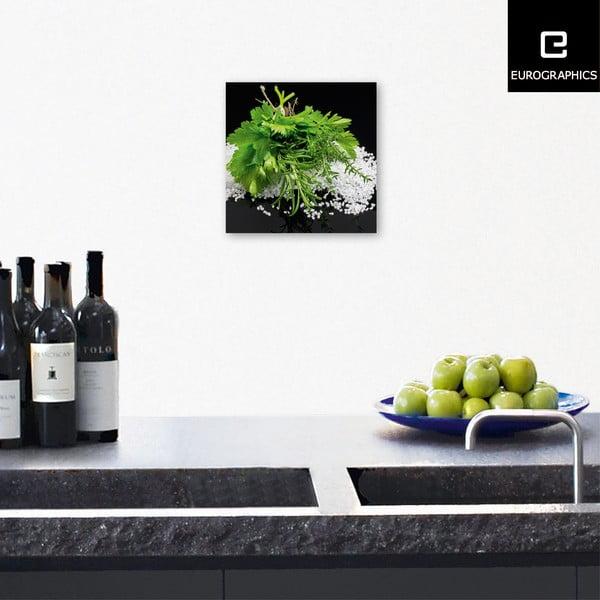 Skleněný obraz Mediterranean Delight , 20x20 cm