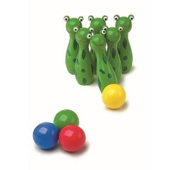 Bowling cu bile din lemn Legler Frog imagine