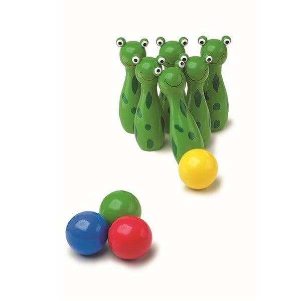 Dřevěné kuželky Legler Frog