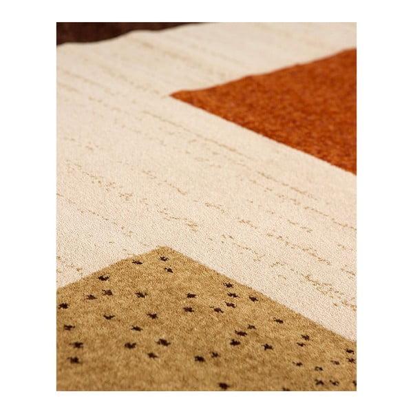 Vlněný koberec Iris 803 Marron, 120x160 cm