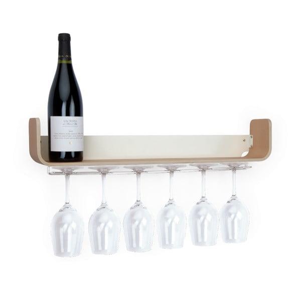 Police na víno Universal, 60x10 cm