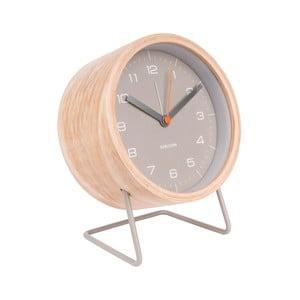 Ceas alarmă Karlsson Innate, gri