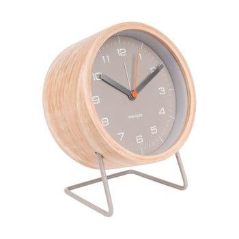Ceas alarmă Karlsson Innate, gri imagine