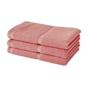 Pudrově růžový ručník Aquanova Adagio, 30x50cm