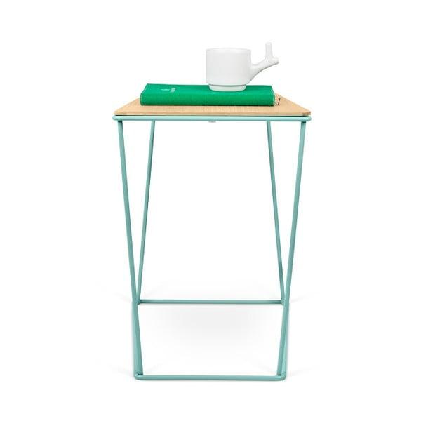 Odkládací stolek se zelenými nohami TemaHome Opal