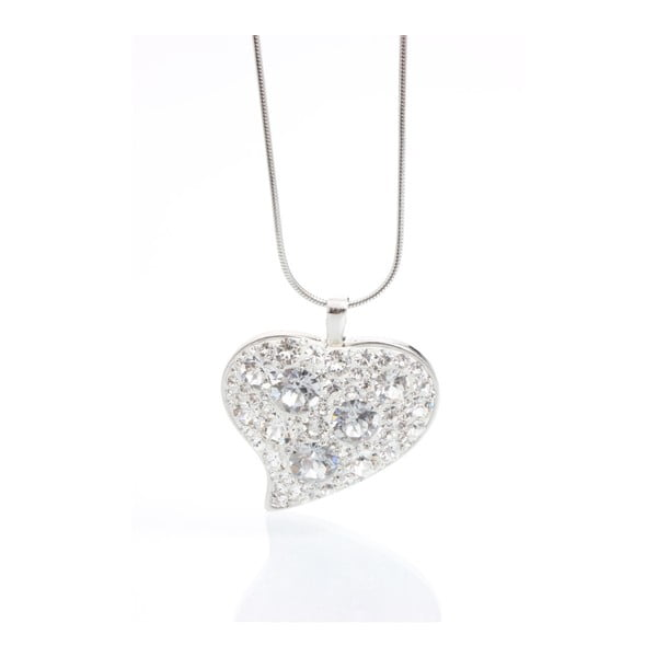 Colier Swarovski Elements Laura Bruni Rich Heart