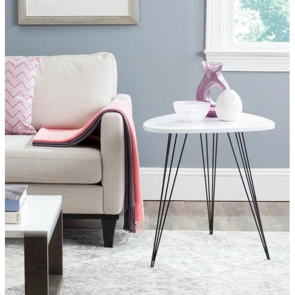 Odkládací stolek Wynton, světlá deska