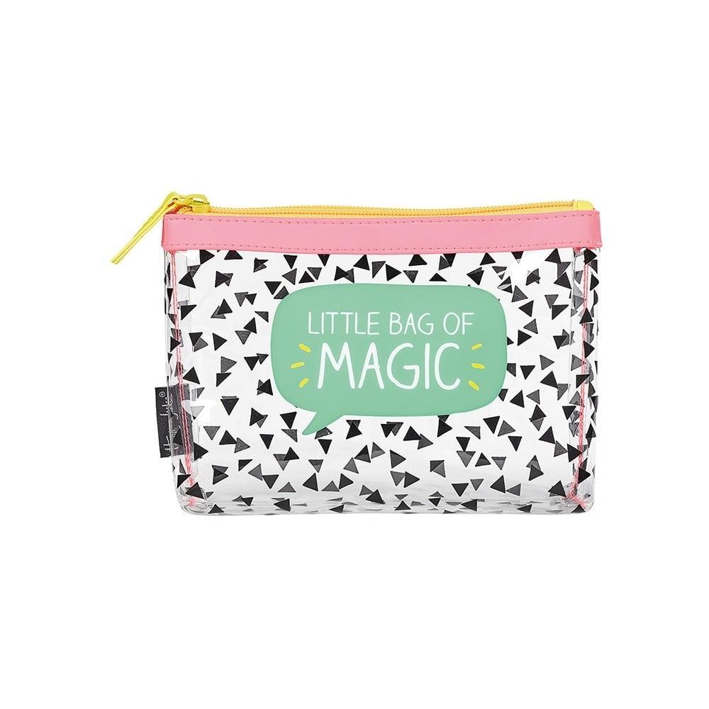 144b7804a0 Průhledná kosmetická taštička Happy Jackson Magic
