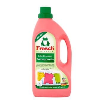Detergent tip gel cu aromă de rodie pentru rufe colorate 1,5l(22 spălări) imagine