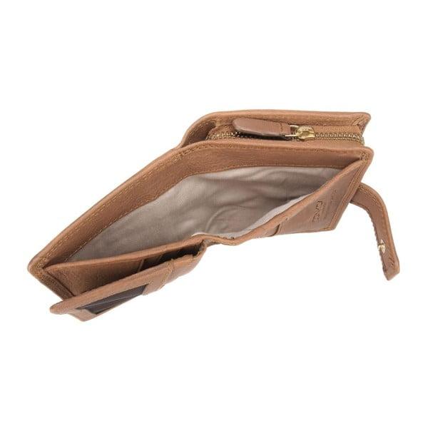 Kožená peněženka Caris Oak