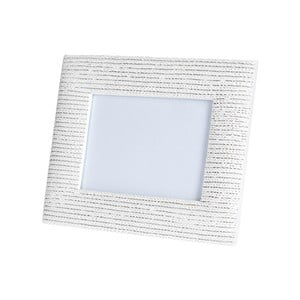 Bílý fotorámeček Brandani Intericco, na fotografie o velikosti13x18cm