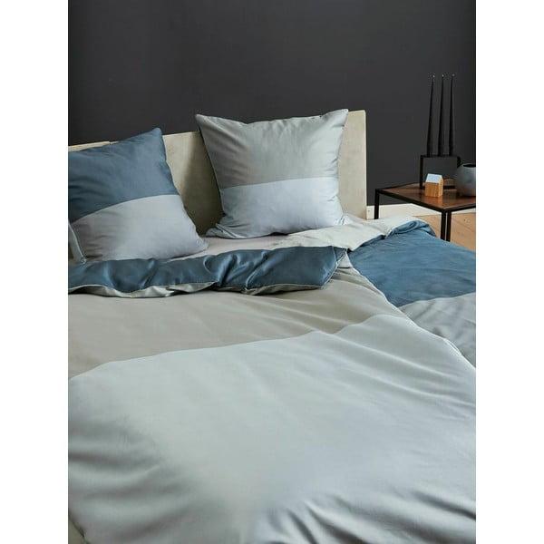 Povlečení Domino Grey and Grey, 140x200 cm