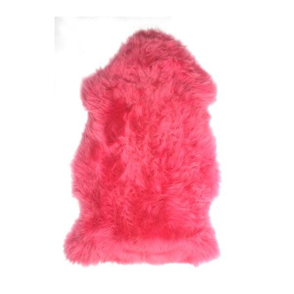 Ovčí kožešina Premium Pink, 90 cm