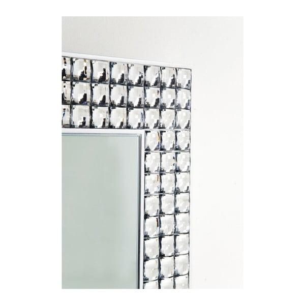 Nástěnné zrcadlo Kare Design Crystals, 60x80cm