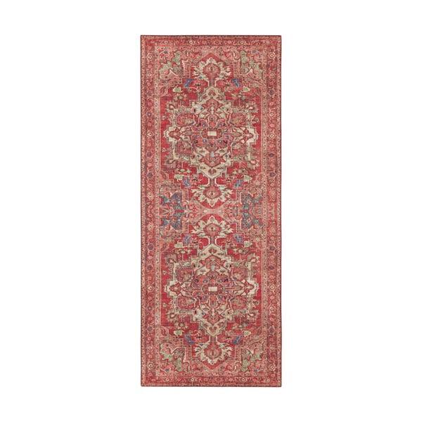 Covor Nouristan Leta, 80 x 200 cm, roșu