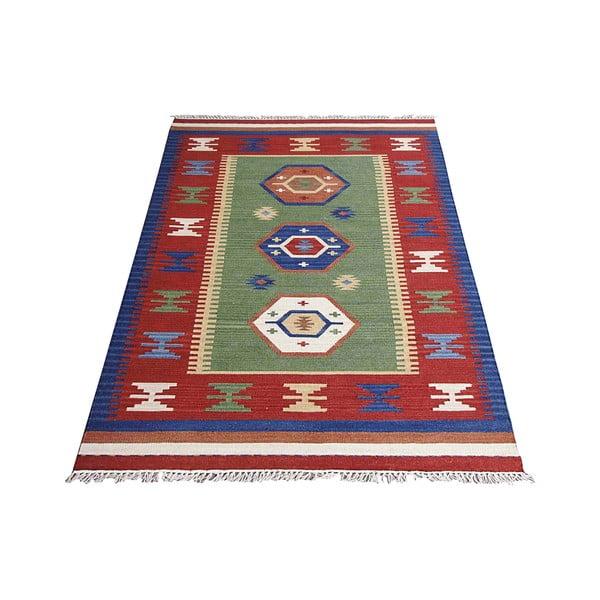 Ručně tkaný koberec Bakero Kilim Classic K84, 125x185 cm