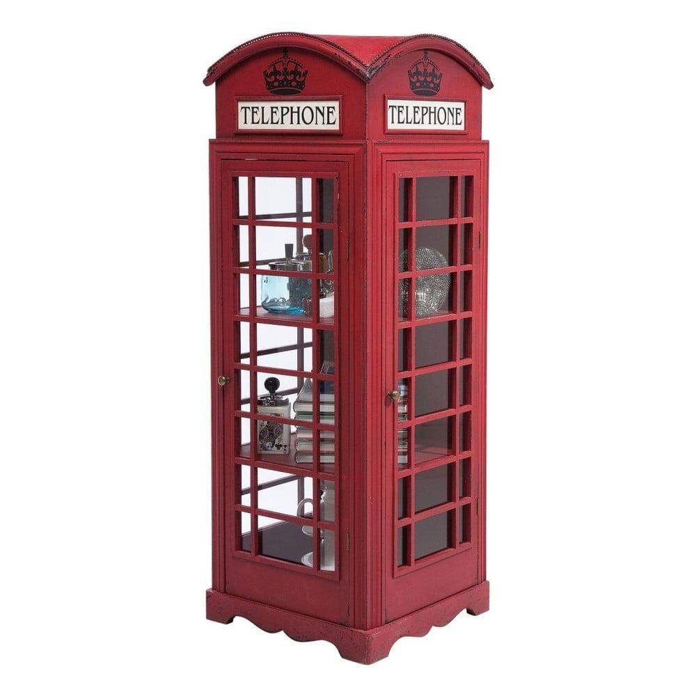 Vitrína Kare Design London Telephone, výška 140 cm