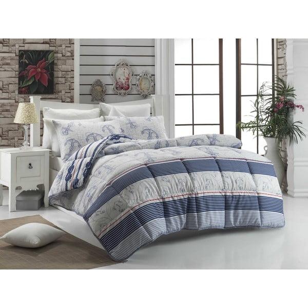 Cuvertură matlasată pentru pat matrimonial Nia, 195 x 215 cm