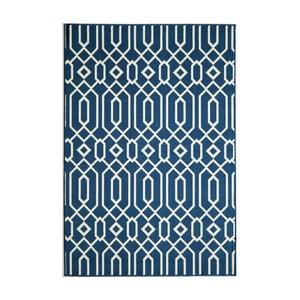 Tmavě modrý koberec Nourison Baja Talara Clara, 290 x 201 cm