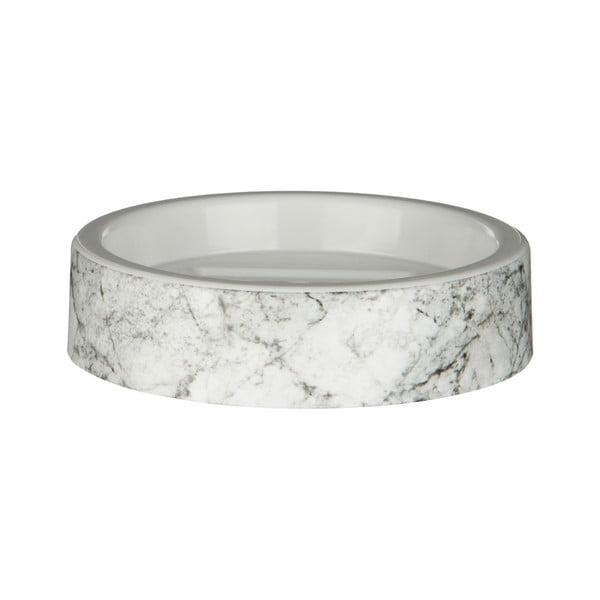 Držák na mýdlo s motivem mramoru Premier Housewares Rome, 12 x 12 cm