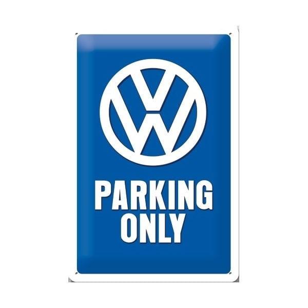 Plechová cedule Parking Only, 20x30 cm