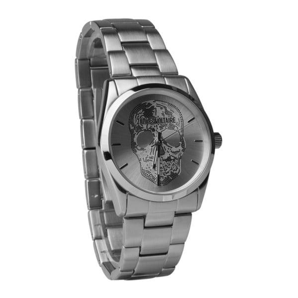 Unisex hodinky stříbrné barvy Zadig & Voltaire Scully, 36 mm