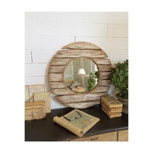 Dřevěné kulaté zrcadlo Orchidea Milano, Ø62 cm