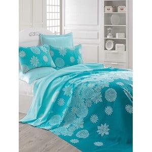 Cuvertură pentru pat Simay, 200 x 235 cm, albastru
