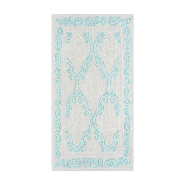 Modrý odolný koberec Vitaus Primrose, 60x90cm
