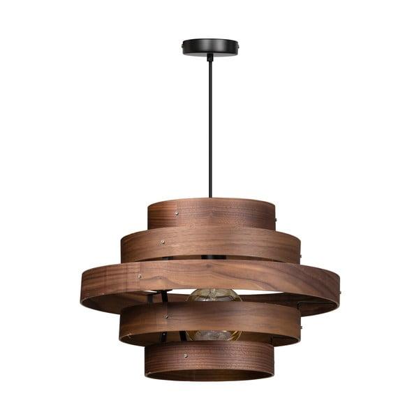 Dřevěné závěsné svítidlo ETH Walnut Oval