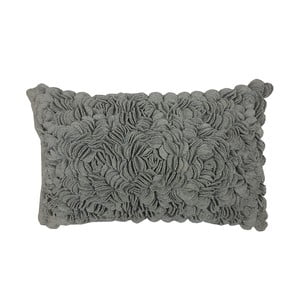 Polštář Bed of Roses Grey, 30x50 cm