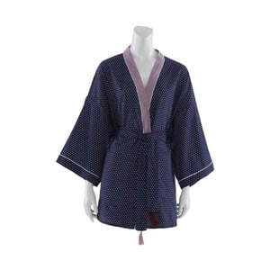 Tmavě modré dámské kimono Bella Maison Adonis, vel.XL