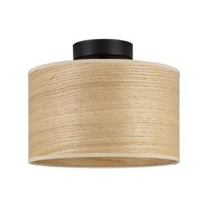 Stropní svítidlo se stínidlem ze dřeva dubu Sotto Luce TSURI S