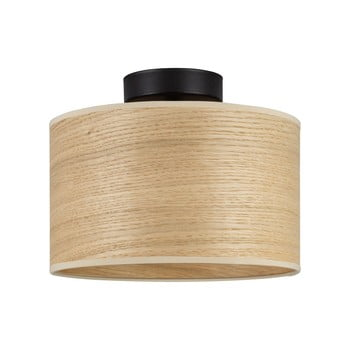Plafonieră cu abajur din lemn de stejar Sotto Luce TSURI S imagine