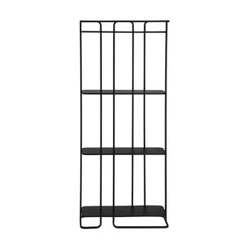 Raft La Forma Calen 72 x 167 cm, negru imagine