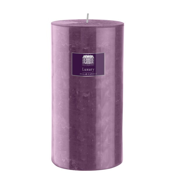 Svíčka 20 cm, fialová, 160 hodin hoření