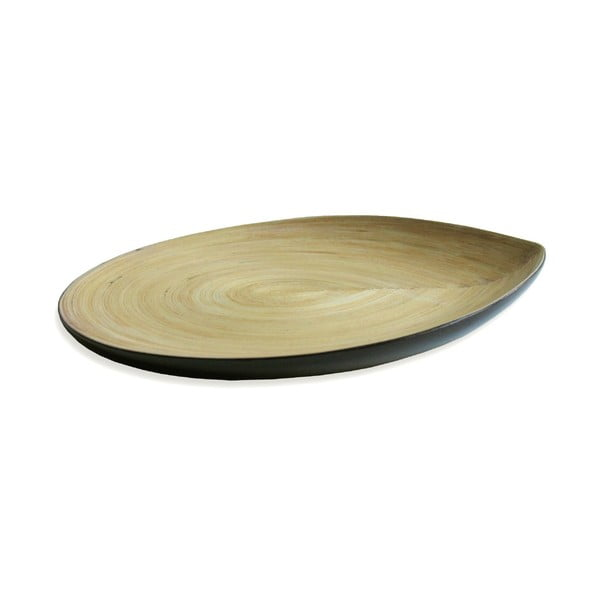 Bambusový talíř Apero Plate, černý