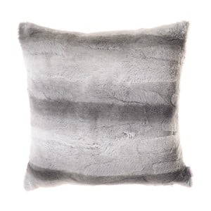Chlupatý povlak na polštář Apolena Ina, šedý